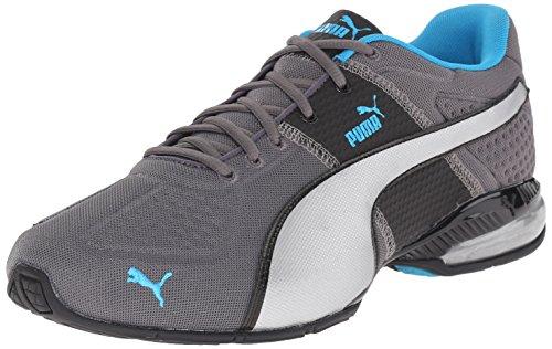 Puma Handy Surin Deboss Sneaker Steel Gray/Black/Atomic Blue