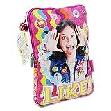 Disney Soy Luna Smile Sac à l'épaule Bandouliere pour Tablette Ipad
