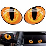 1PCS Auto Styling Aufkleber Katze Augen Auto Aufkleber 3D Vinyl Abziehbild Auto Kopf Motor Cover Rearview Spiegel Windows Dekoration Film Auto Diy Tuning Aufkleber
