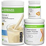 Herbalife Formula 1(Kulfi) with Personalized Protein Powder(200gm)+ Afresh(Elaichi)