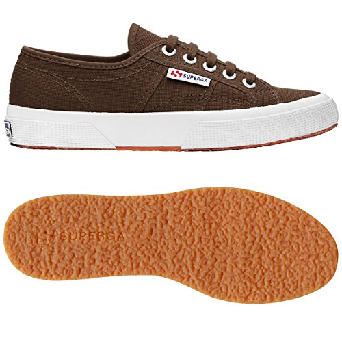 Superga S4s, Sneaker Unisex – Adulto Marrone