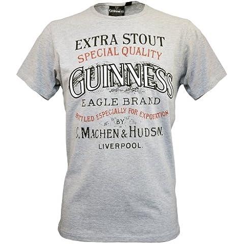Guinness Official Merchandise - Maglietta, Manica corta,