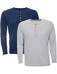 Aarbee Men's Cotton T-Shirt - Combo of 2