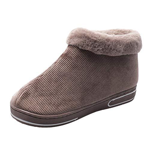 Sulifor Pantoffeln Damen Hausschuhe Schneeschuhe Winter Zuhause Wärme Outdoor