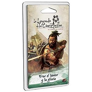 Fantasy Flight Games-La La Leyenda de los Cinco Anillos: por el Honor y la Gloria - Español, Color (LCG FFL5C03)