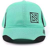 Nonbak gorra cap mesh casual/running tejido transpirable logo bordado Unisex 3 colores (Verde Emerald)
