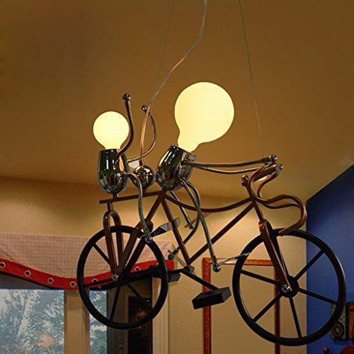 Zimmerlampe Schlafzimmerlampe Jungen Mädchen Zeichentrickfigur Kind Kinder kreative Lampe schöne warme Leuchterlampe Newcastle Ritter