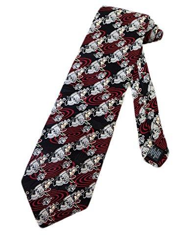 Preisvergleich Produktbild Dilbert Herren Krawatte schwarz schwarz onesize