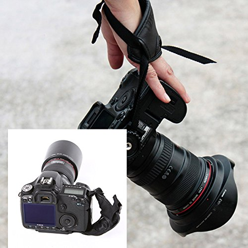 Andoer® PU Hand Grip Cinturino Cinghia Polso Accessori di Fotografia per Fotocamera