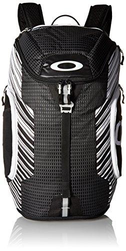 Oakley ENLACE negros de paquete mochilas blancas