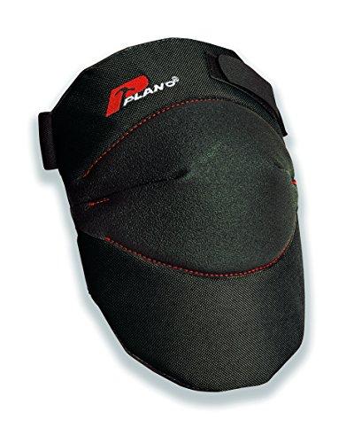 Plano PLO06041ZR KT 100tb genouillère ultralégere avec Une Structure en Polyester Anti-déchirure, Noir