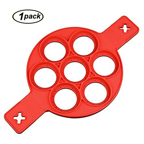 Pfannkuchen Form Silikon Backform Ei Maker Pancake Flipper von swallowzy, 1 Stpck