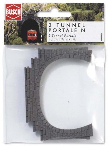 busch-environnement-bue8192-modelisme-ferroviaire-entree-de-tunnel-double-voie