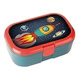 Lunchbox * RAKETE * für Kinder von Lutz Mauder // Weltraum Brotdose ohne Namensdruck // Perfekt für Mädchen & Jungen // Vesperdose Brotzeitbox Brotzeit (ohne Namen)