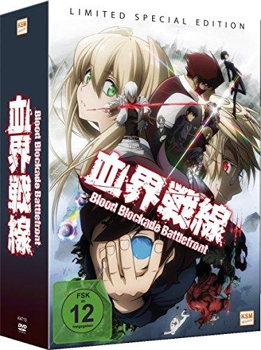 Blood Blockade Battlefront Limited Edition Vol. 1-3...