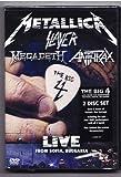 Heavy Metal DVD, Metallica Slayer Megadeth Anthrax/ Big FOUR Live DVD[Region Code : 2-6]