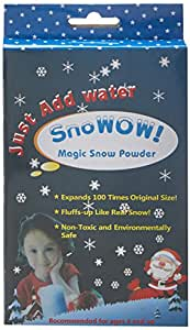 Buddyboo 145160 Ready Made Snow for Kids, Instant Snow Making (White)