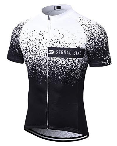 Herr strgao Herren Radtrikot Bike Short Sleeve Shirt -