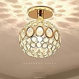 XIAYU Post-Moderna Lampada da soffitto di Cristallo Creativo, Americano Nordico Minimalista Nuovo lampadario di Cristallo, Adatto per Camera da Letto Soggiorno corridoio