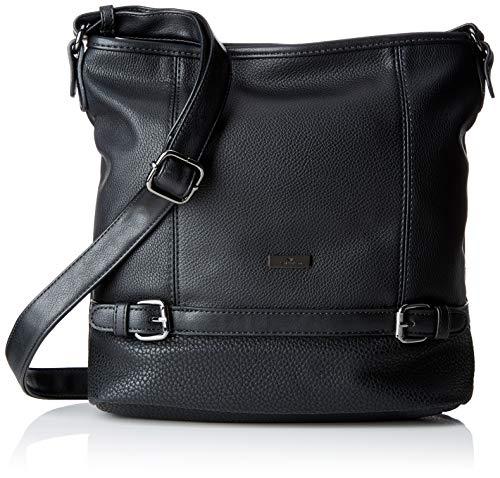 TOM TAILOR für Frauen Taschen & Geldbörsen Hobo-Tasche Juna schwarz/Black, OneSize