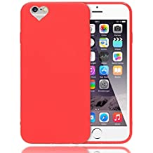 apple bt-mky32zma iphone 6s silicone custodia rosso
