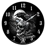 Wanduhr,Uhr Poe's Raven by Alchemy ca 34 cm