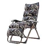 Klappstühle Büro Schwangere Frauen Faul Schlafsofa Mittagspause Freizeit Computer Stuhl Home Zurück Strand Stuhl (Farbe : with Cushion)