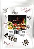 Salami Toskana, original Salami - Gewürz, Italien, ohne Zusatzstoffe. Beutel 250g.
