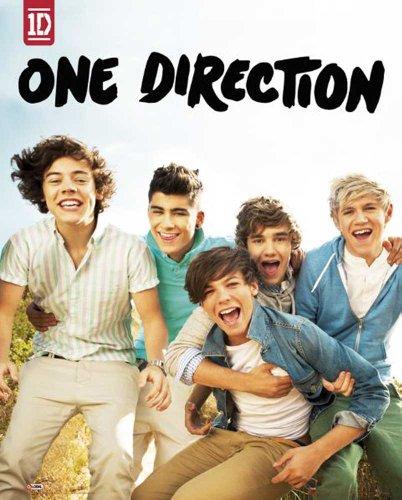 empireposter - One Direction - Album - Größe (cm), ca. 40x50 - Mini-Poster + 1 Packung tesa Powerstrips - Inhalt 20 Stück