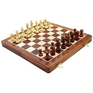 Zap Impex® scacchi magnetica, scacchiera pieghevole 12