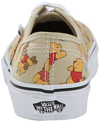 Vans K Authentic Disney, Baskets Basses Mixte Enfant Multicolore (Disney/Winnie The Pooh/Light Khaki)
