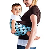 Neal Link Adjustable Baby Wrap Water Ring Sling Carrier Toddlers Perfect Baby Shower Gift with Polyester Fabrics Material Black