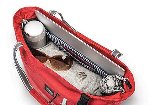 Pacsafe Slingsafe LX250Diebstahlschutz Tote, schwarz, Tweed Grey (grau) - 688334025861 chili
