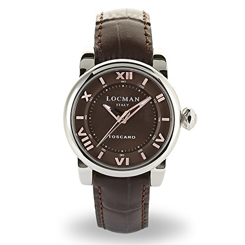 Locman Italy Ladies Watch Toscano Brown Ref 595