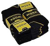 spass42 5 bis 30 Paar rubuste venenfreundliche Herren Socken Arbeitssocken Herrensocken Arbeits Strümpfe Groesse: 47-50
