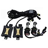 XENON HID KIT - SODIAL(R)SUPER 55W Slim XENON HID KIT H4 10000K