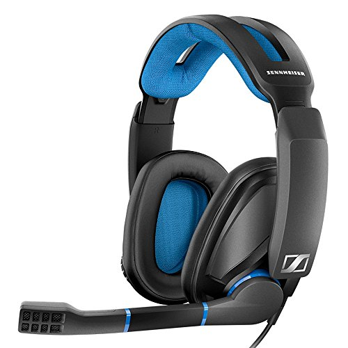 Sennheiser GSP 300 Gaming-Kopfhörer, schwarz/blau