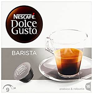 Nescafé Dolce Gusto Barista Coffee pods (Pack of 3, Total 48 Capsules, 48 servings)