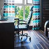 Floortex FC1220019ER Bodenschutzmatte / Bürostuhlunterlage 'ultimat', 120 x 200 cm, aus Original-Floortex-Polycarbonat, transparent, rechteckig, TÜV zertifiziert, für harte Böden