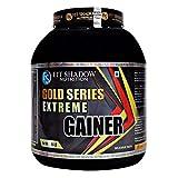 FIT SHADOW Extream Weight Gainer Mass Gainer With High Protein Supplement Powder 3kg/6.6lbs,Best