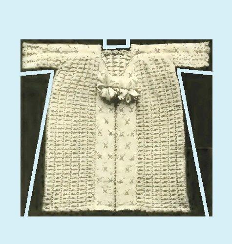 Infant's Crocheted Kimono - Columbia No. 2. Vintage Pattern [Annotated] (English Edition) Kimono Hat
