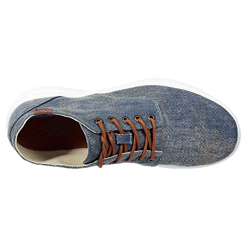 Vans Iso 2 Plus, Baskets Basses Mixte Adulte Bleu (Acid Denim/Blue)