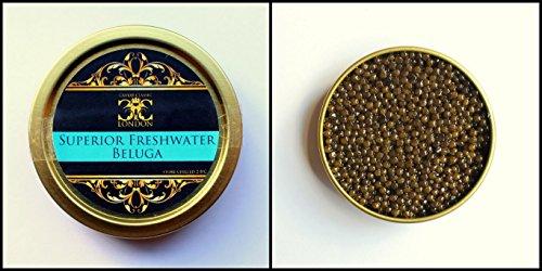 125 Gramm Superior Süßwasser Caviar Beluga. 1-2 Tage Lieferzeit