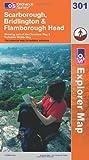 Scarborough, Bridlington and Flamborough Head (Explorer Maps) (OS Explorer Map)