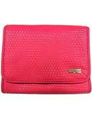 Danielle Creations Weave ausklappbares Traveller Kosmetiktasche–Hot Pink