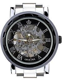 ORKINA KC023-S-Black/Black - Reloj de pulsera hombre