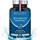 Magnesio Vitamina B6 Cansancio Fatiga Alivio de Calambres Magnesio Marino Potente Suplemento Articulaciones Cartílagos Huesos Piel Energia Deportistas Dosis Alta Fabricado Francia Tratamiento 4 Meses