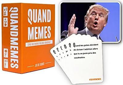 Quand Memes, le 1er jeu de soirée 100% MEMES