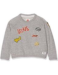 Unbekannt Mädchen Sweatshirt C-Neck Sweater Badges