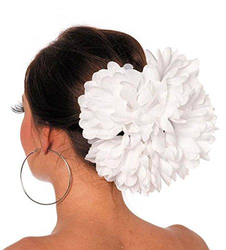Modeschmuck Blanca (Haarklammer Blume, Weiß)